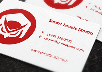 Business cards design custom cards smart levels printing plastic white reheart Choice Image