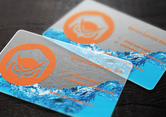 Business cards design custom cards smart levels printing plastic frosted colourmoves